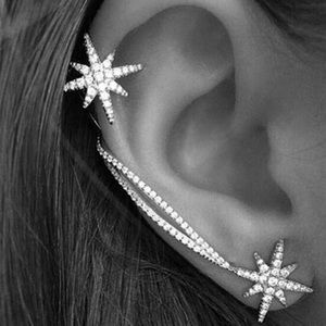 Jewelry - Star Earring Cuff Ear Climber